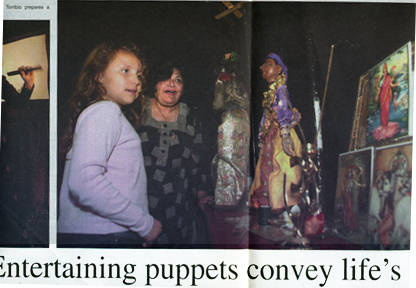 entertaining Puppets Convey LIfe's Lessons, Cal Poly University Pomona, Art Center