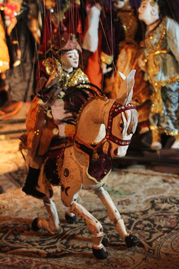 Horse Puppet from Penelope Torribio's Puppetry Collection